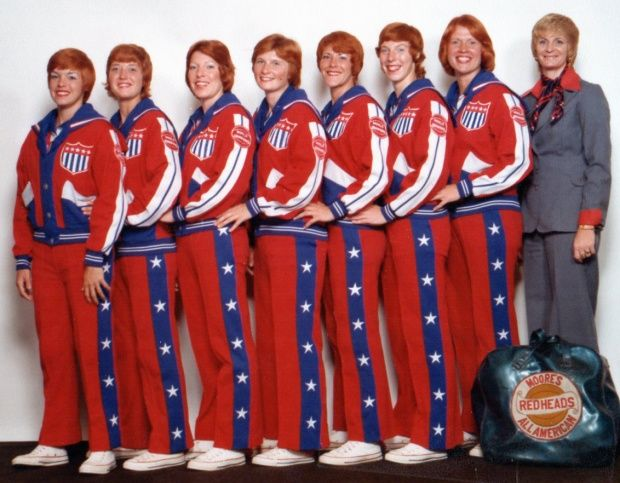 ALL AMERICAN RED HEADS