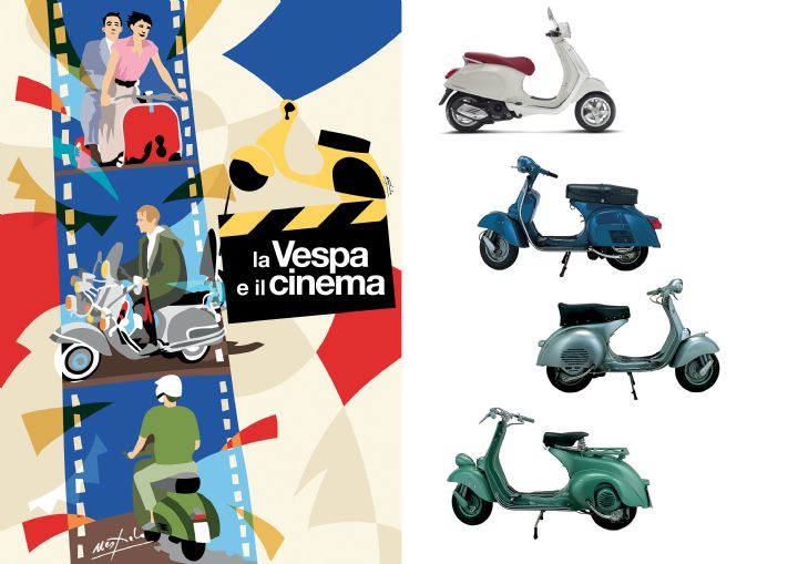 La Vespa e il cinema QUIZ